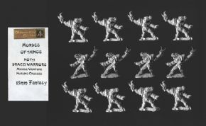 Alternative Armies 15mm Fantasy HOT53 Dracci Missile Troops (Dragonmen) x 12